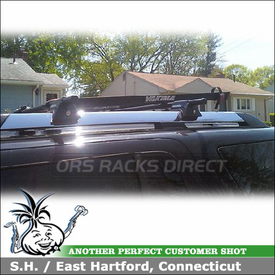 2006 Ford Explorer Roof Rack using Yakima RailGrab Towers for Factory Side Rails