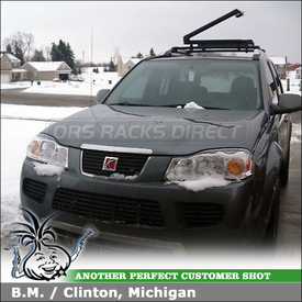 2006 Saturn VUE Ski Rack for Factory RoofRack Cross Rails