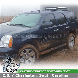 2007 GMC Yukon Ski Rack-Snowboard Rack for Factory Bars