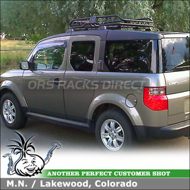 Attractive 2007 Honda Element Roof Basket Install