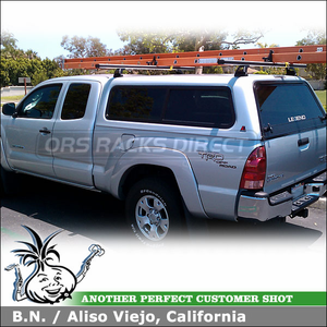 Exceptional 2008 Toyota Tacoma Leer Cap Roof Rack Install