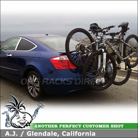 2010 Honda Accord Rear Spoiler Mount Trunk Bike Rack