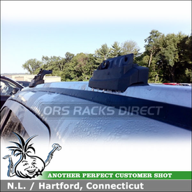 2011 Jeep Compass Roof Rack with Thule AeroBlade Customer Install