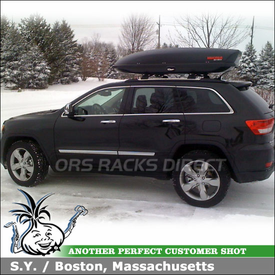 2011 Jeep Grand Cherokee Factory Rack Mounting Cargo Roof Box
