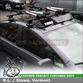 2011 Toyota Prius Bike Car Rack Customer Install