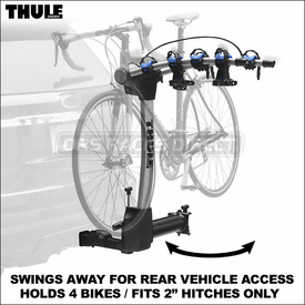 9027 Thule Apex Swing Hitch Bike Rack Now Available
