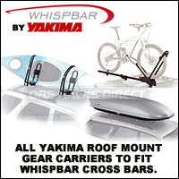 All Yakima Gear Mounts That Fit Whispbar Racks Cross Bars