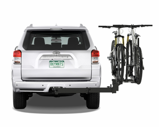 "RockyMounts BackStage Swing Away Platform Style Hitch Mount Bike Rack For 2"" Hitch --RM1002"