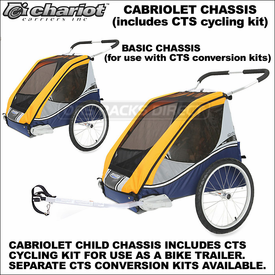 Chariot Corsaire and Chariot Cabriolet Bike Trailers, Baby Jogging-Strollers Update
