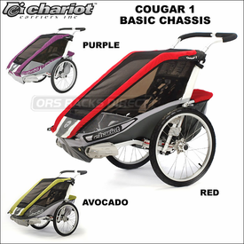 Chariot Cougar 1 and Cougar 2 Baby Joggers, Strollers, Bike Trailers and Ski Pulks Now Available