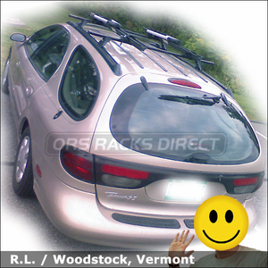 Attractive Ford Taurus Roof Rack For Bikes Install