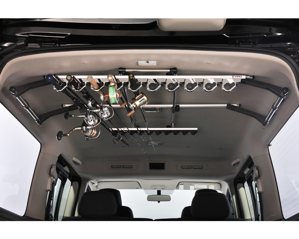 Fishing pole rack for truck 2017 2018 best cars reviews for Fishing rod holder for truck cap