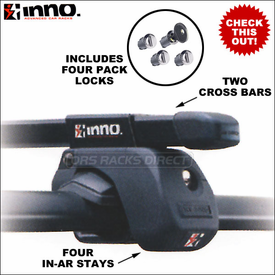 Inno Racks IN-AR Roof Rack Complete and IN-AR Stays Now Available