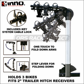 Inno Racks INH303 Aero Light Hitch Bike Rack Now Available