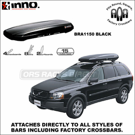 Inno Racks Shadow 15 Cargo Roof Box Now Available