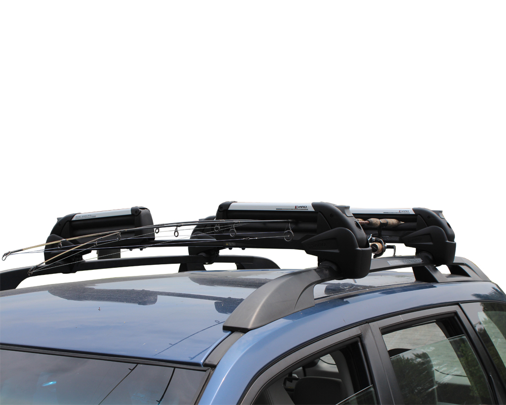 Inno fishing rod rack cosmecol for Roof rack fishing rod holder