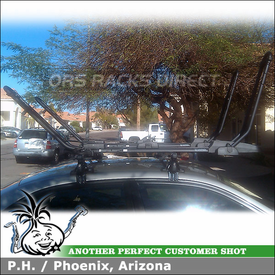 Inno Roof Rack Two Bike Carrier for 2003 Honda Civic Sedan
