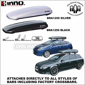 Inno Shadow 16 Roof Box and Inno Shadow 14 Roof Box