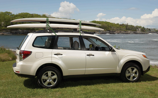 Malone Deluxe Paddleboard Roof Carrier Kit