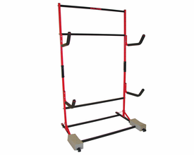 Malone Freestanding Kayak Storage Rack for Three Boats