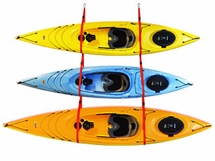 Malone Kayak Slings for Home Kayak Storage