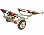 Malone MPG461GS Microsport Trailer Package For Two Kayaks