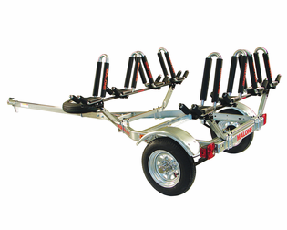 Malone MPG462G2 Microsport Trailer Package for Four Kayaks