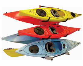 Malone Six Kayak Free Standing Storage Rack
