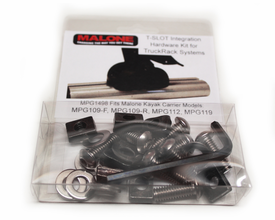 Malone T-Slot Hardware For Flush Mounting Saddles to Truck Racks