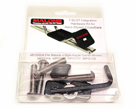 Malone MPG6604 T-Slot Mounting Kit for Aero Bars