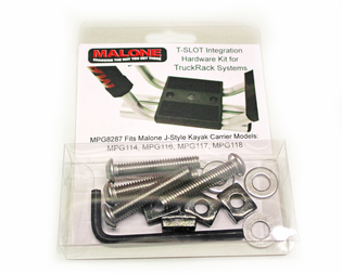 Malone MPG8287 T-Slot Mounting Kit For Truck Racks