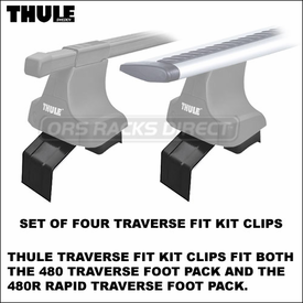 New Thule Racks Fit Kits - 1692 1683 1680 1671 1658 1647 1643 1636 1632 1628 Traverse Fit Kit Clips