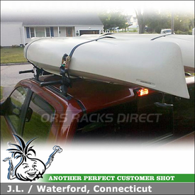 Permanent Roof Rack Tracks for 2004 Nissan Titan Crew Cab RoofTop