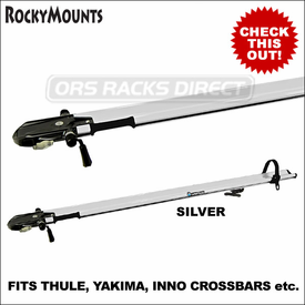 RockyMounts 9mm PitchFork Bike Rack With Non-Locking Quick Release Skewer