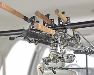 RodMounts Rod-Up For Cars Fishing Rod Rack For SUVs, Wagons, and Vans
