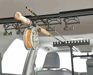 RodMounts Rod-Up For Trucks Fishing Rod Rack For Trucks with Pass-Thru Windows