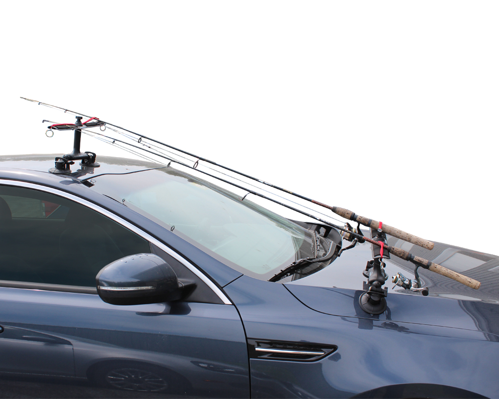 Roof pole holder all it is is one of these on the roof for Roof rack fishing rod holder