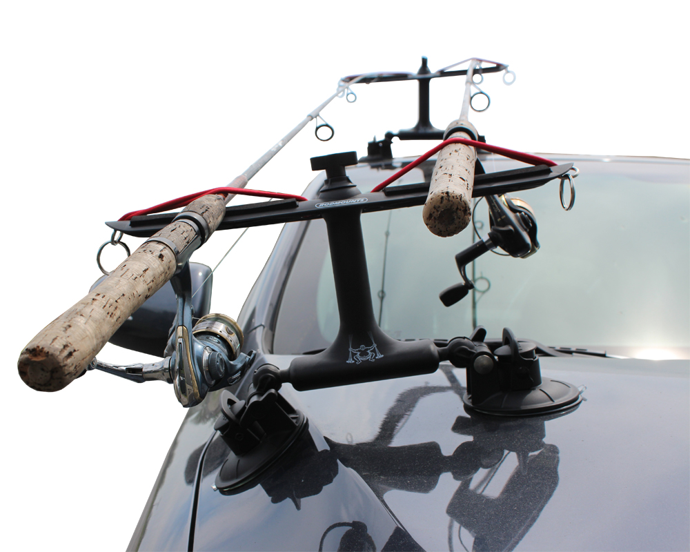 Fishing pole roof rack holder 28 images fishing rod for Rooftop fishing rod carrier