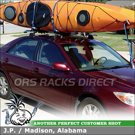 Toyota Camry Roof Rack Luge Box Stand Up Paddle Board Kayak