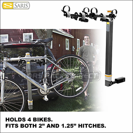 Saris Bike Porter Hitch Mount Bike Racks Now Available