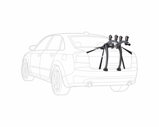 Saris Bones 2 Trunk Mount Bike Rack