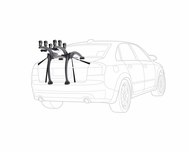 Saris Bones 3 Trunk Mount Bike Rack