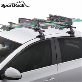 SportRack Ski Racks-Snowboard Holders and Ski Boxes for Car Rooftop Cross Bars