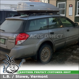 Subaru Outback Factory Rack Mount Snowboard-Ski Box