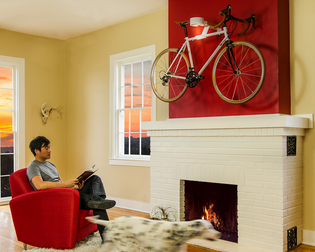 """Saris """"The Show Off"""" Wall Mount Bicycle Hanger"""
