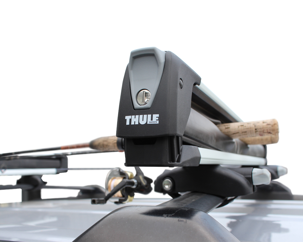 Ski Rack For Car >> Thule 7326 Snowpack Fishing Rod Rack & Ski-Snowboard Rack ...