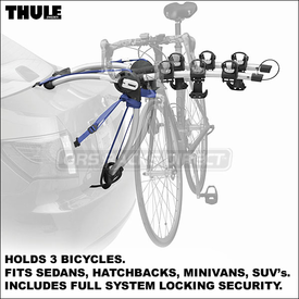 Thule 9010 ArchWay and Thule 9009 ArchWay Trunk Bike Racks