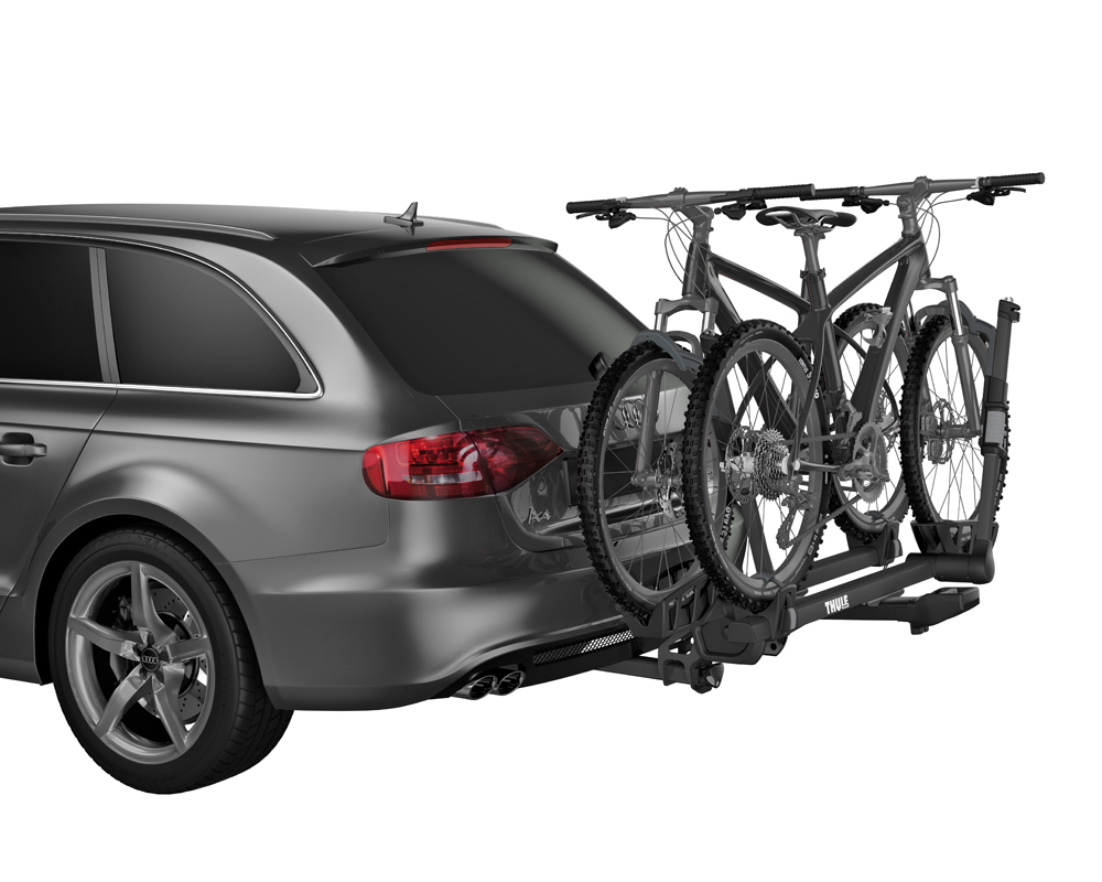 Thule 9034xt T2 Pro Xt Tray Style Hitch Mounted Bike Rack For 2 Receivers