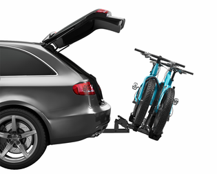 """Thule 9044 T2 Classic Hitch-Mounted Platform Bike Rack for 2"""" Hitch"""