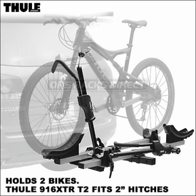 Thule 917XTR T2 / Thule 916XTR T2 Hitch Bike Racks